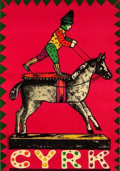 cieslewicz_roman_clown_horse_b